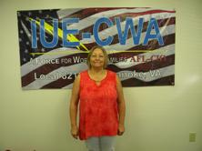 Chief Steward Building 1: Sherry Coley